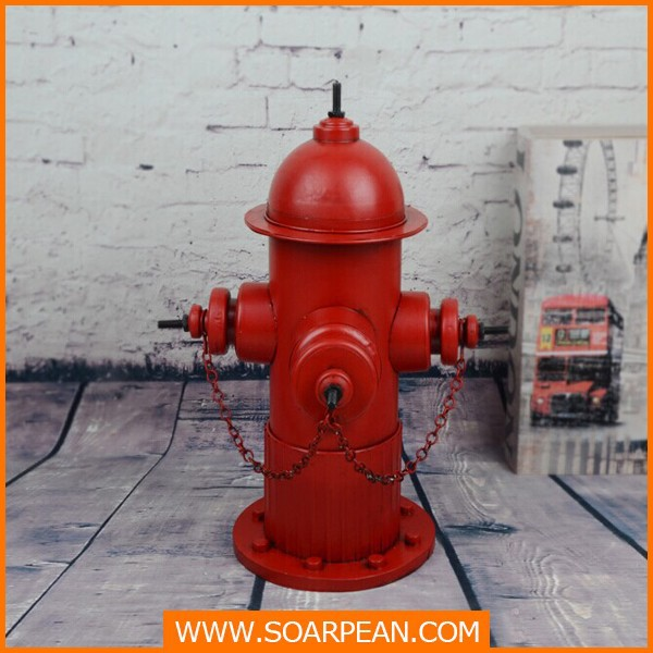 Custom Decorative Fiberglass Hydrant