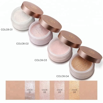 O.TWO.O Beauty Face Makeup Powder 4 Color Loose Highlighter Powder