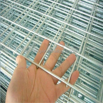 galvanized hog wire fence panels welded iron wire mesh panel q 011
