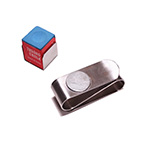Leather Chalk Holder pen for Snooker/Billard Pool Cue