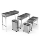 2019 design camping charcoal folding portable and adjustable stainless steel bbq grill