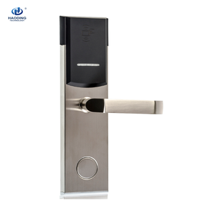 Best Security Key Card Management Electronic Rfid Hotel Door Lock with Free Software