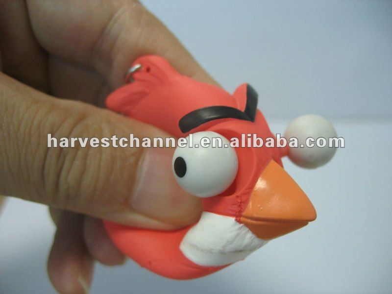 Eye Squeeze/Vinyl Toy/ 3D Cartoon Toy for AD selling