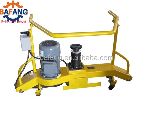 rail track switch sharpening equipment electrical and internal combustion rail grinding machine
