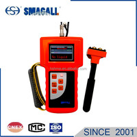 Portable Ultrasonic liquid level indication for fire-fighting systems on board