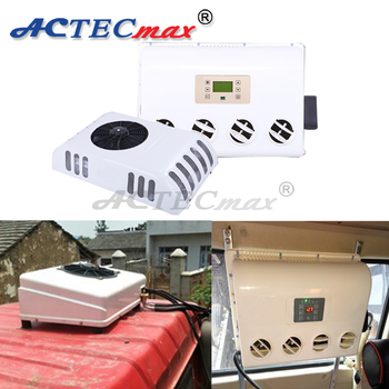 Eco-friendly van roof mounted rv rooftop 12v air conditioner for tractor,  View 12v air conditioner for tractor, ACTECmax Product Details from Ningbo