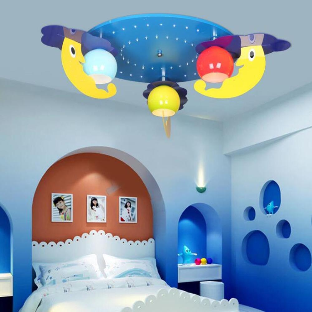 Wei-d Creative Led Children'S Room Pendant Lamp Bedroom Lamp Kindergarten Chandelier , as picture