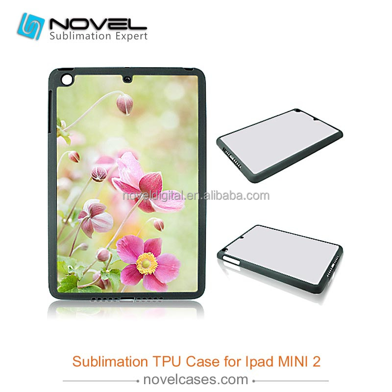 For iPad mini2 2D sublimation rubber phone case