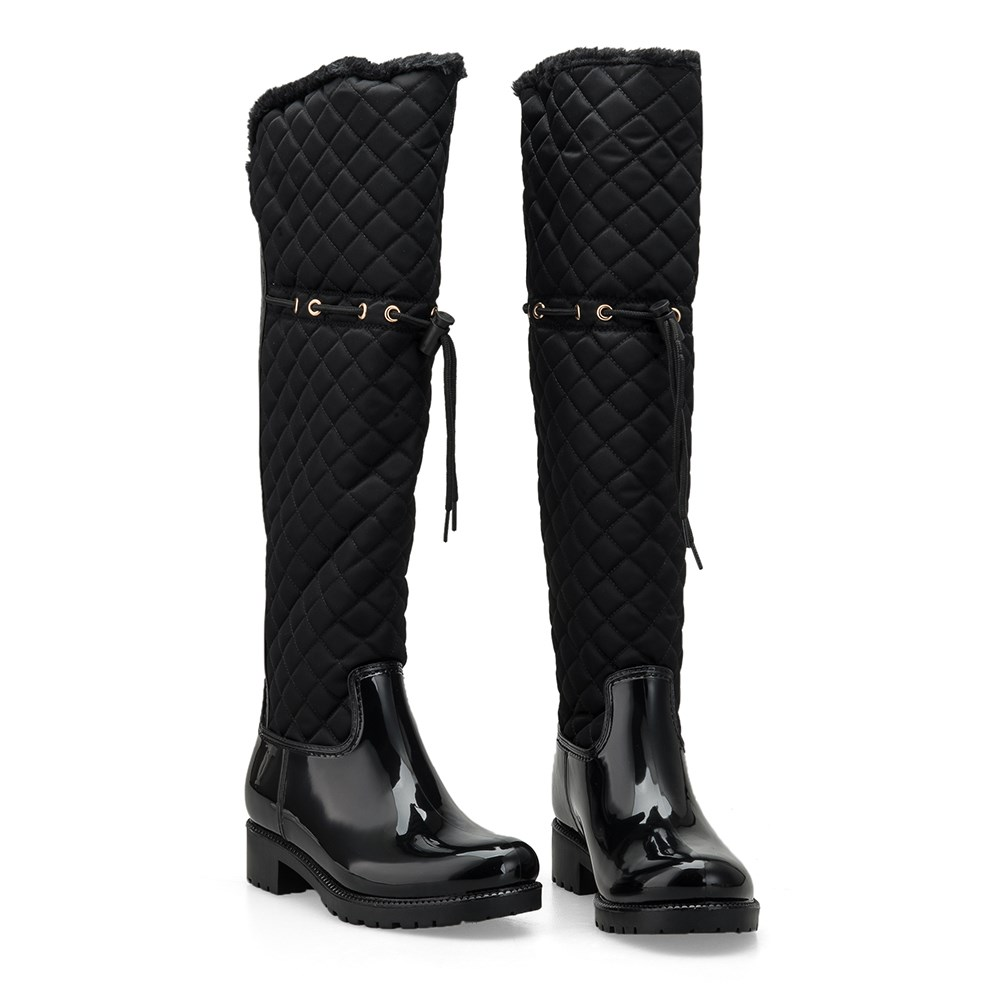Leather Thigh High Boots, Leather Thigh High Boots Suppliers and ...