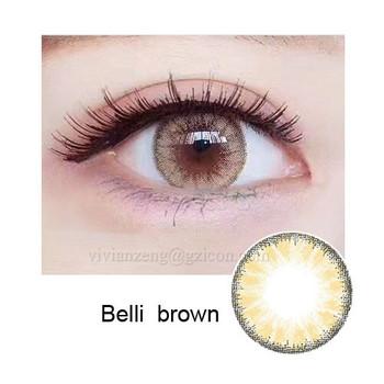 3aa7fa7040 Belli marrón Huda belleza cosméticos lentes de ojos color al por mayor de  China color anual