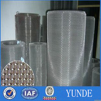 black plain weave stainless steel wire cloth