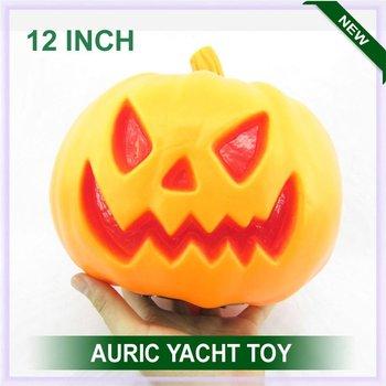 hot selling halloween 12 plastic pumpkin view larger image - Large Plastic Pumpkins