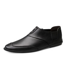 Luxury Business Oxford Leather Shoes Men Breathable Rubber Casual Shoes Male Office Wedding Flats Footwear Mocassin