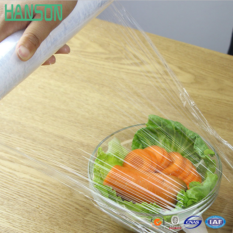 Cling Film pvdc/Clear Vinyl Roll / Plastic Film/ Sheet