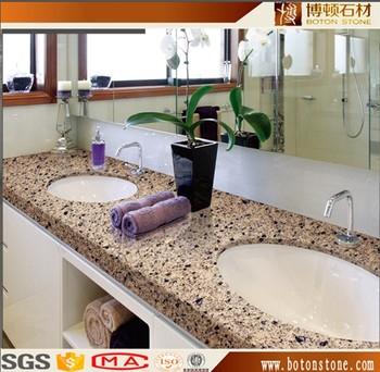 Granit Quarz Stein Kuchenarbeitsplatte Tischplatte Waschtischplatte
