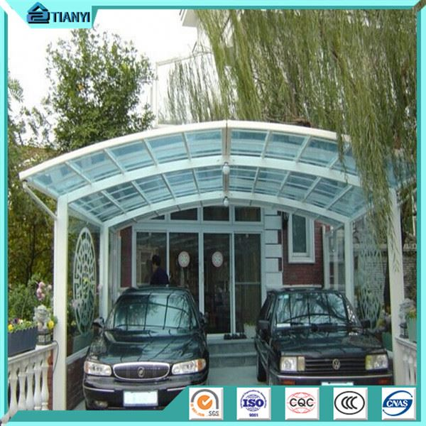 newest design solar aluminum frame car garage carport canopy