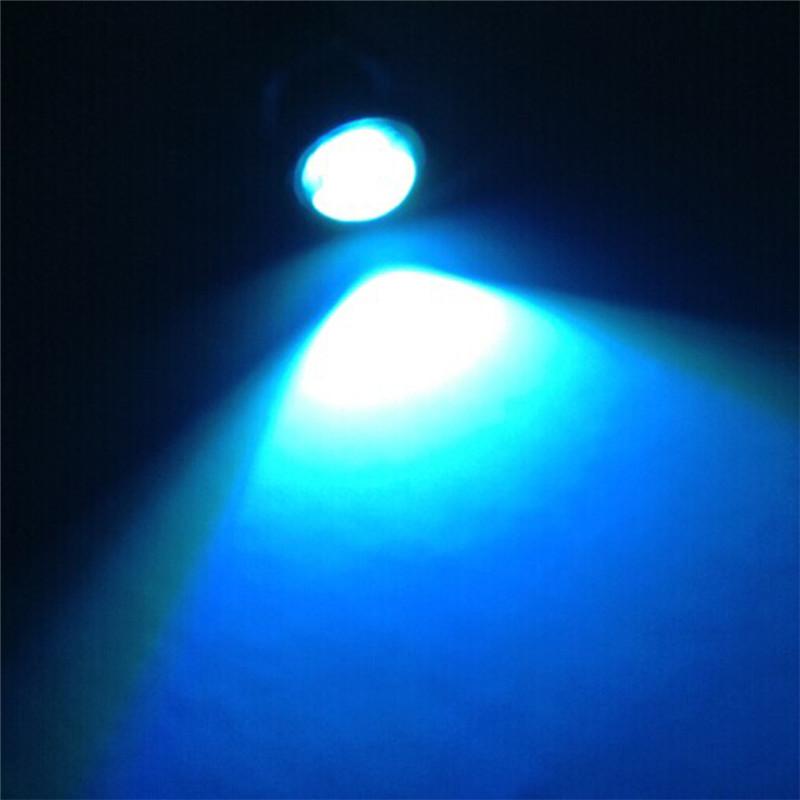 10 шт. DC12V 23 мм крючке DRL из светодиодов источника света автомобиля дневного света работы водонепроницаемый туман парковка свет лампы