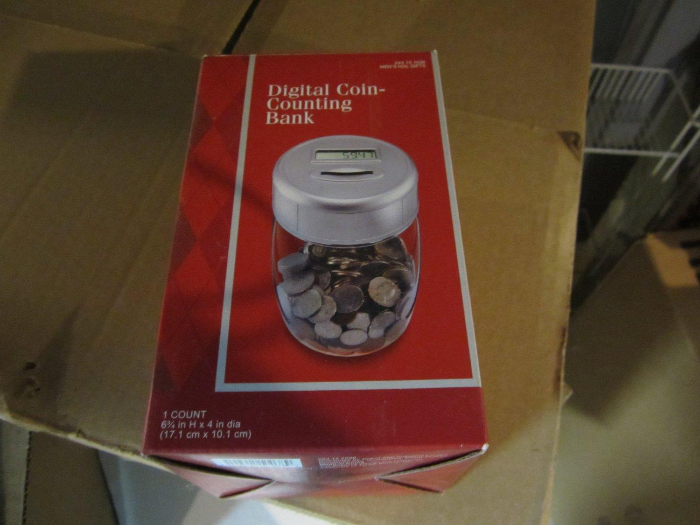Digital Coin counting Bank