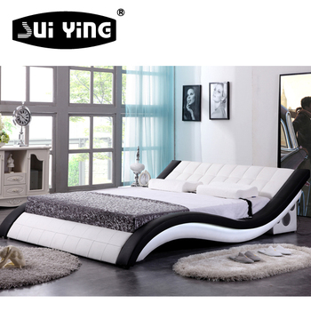 hot sale modern nice design luxury bed A044-1, View luxury bed ...