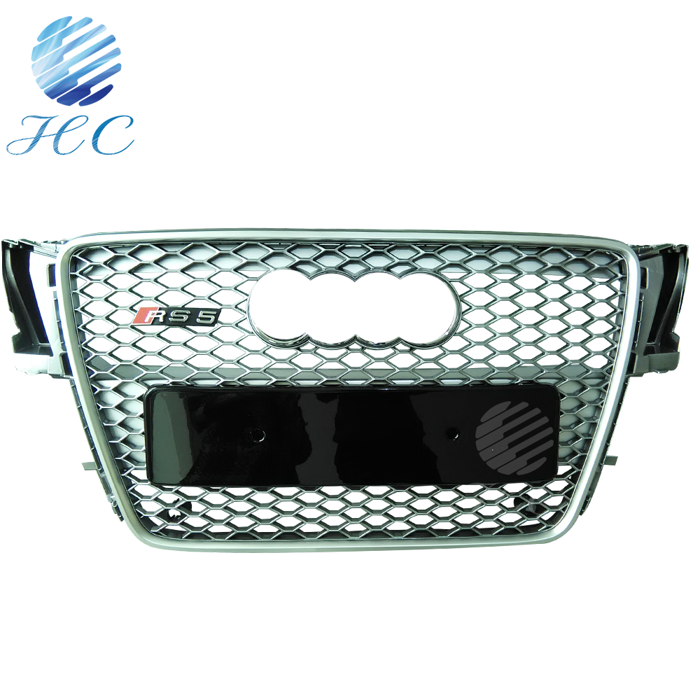 Full black new front grille for audi A5 RS5 2008-2012