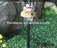 solar garden decorative with animal/solar garden light SO3008