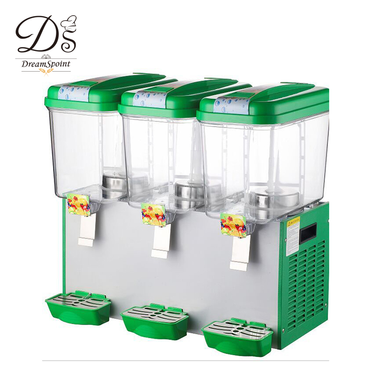 China Supplier 18L*3 Juice Dispenser Cold Beverage Dispenser for Buffet