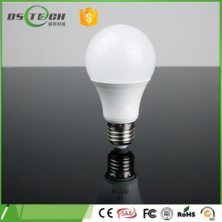 Alibaba Trade Assurance Energy Saving Light Bulbs 7w led bulb lighting CE/FCC/RoHs listed LED