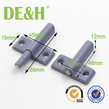 Korea mini type push latch rebound system for cabinet door