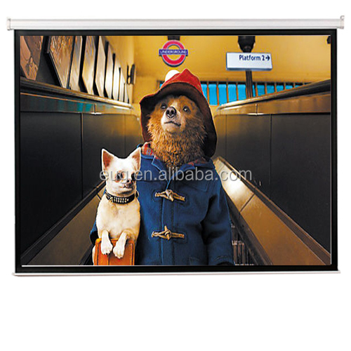 new design 3d projector screens / holographic portable rear projection with folding screen