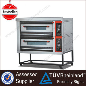 Bakery Equipment For Restaurant K026 2-Layer 4-Tray Kitchen Oven Gas Convection Oven
