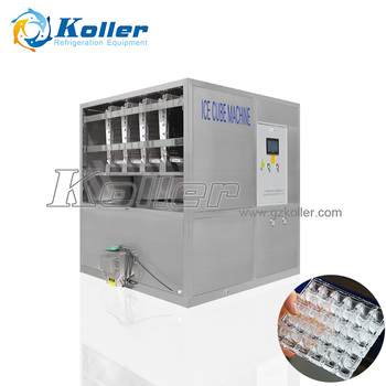 1000kg/day CV1000 Ice Cube Machine For Ice Factory