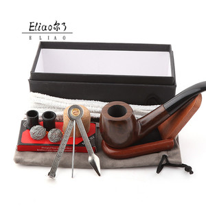Yiwu Erliao best selling pipes for smoking factory direct smoking pipe tobacco a set