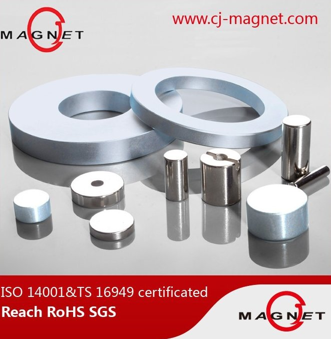 Disc NdFeB magnet round neodymium magnets certificated by TS/ISO 16949,pass MSDS,SGS,Reach,RoHS Report