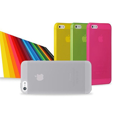 0.3mm Ultra Thin Case for iPhone 5s Slim Matte Transparent Cover Case for iphone 5 cases Free shipping