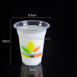 Eco Friendly Feature PP Disposable Logo Plastic Cup with Dome Lid