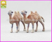 3d plastic animal toys camel shaped animal figures for home decoration