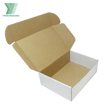 Eco friendly custom wholesale white paper folding gift packaging box