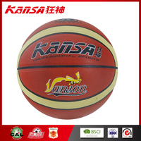 Kansa-8200 Adults Particles Foaming Leather Outdoor Training Design Basketball Ball