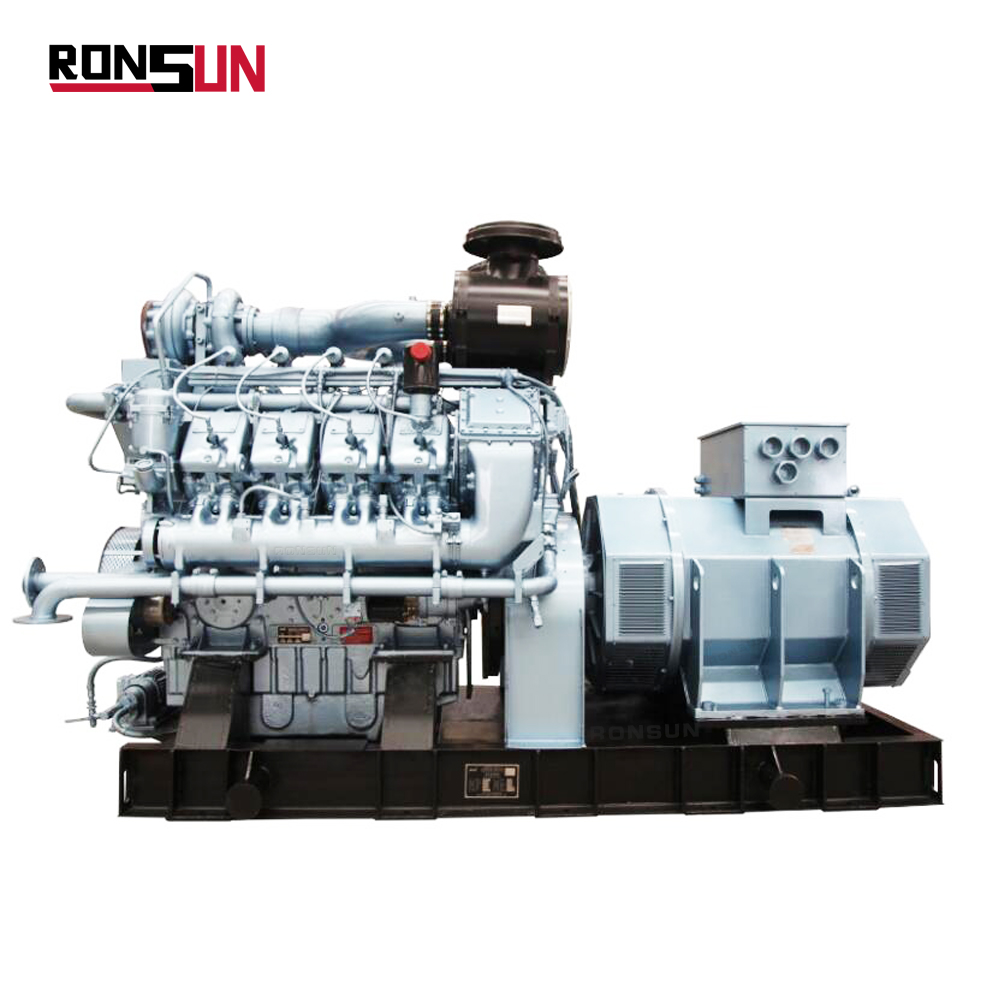 500KW small syngas/ biogas/ natural gas engine turbine generator set for sale price