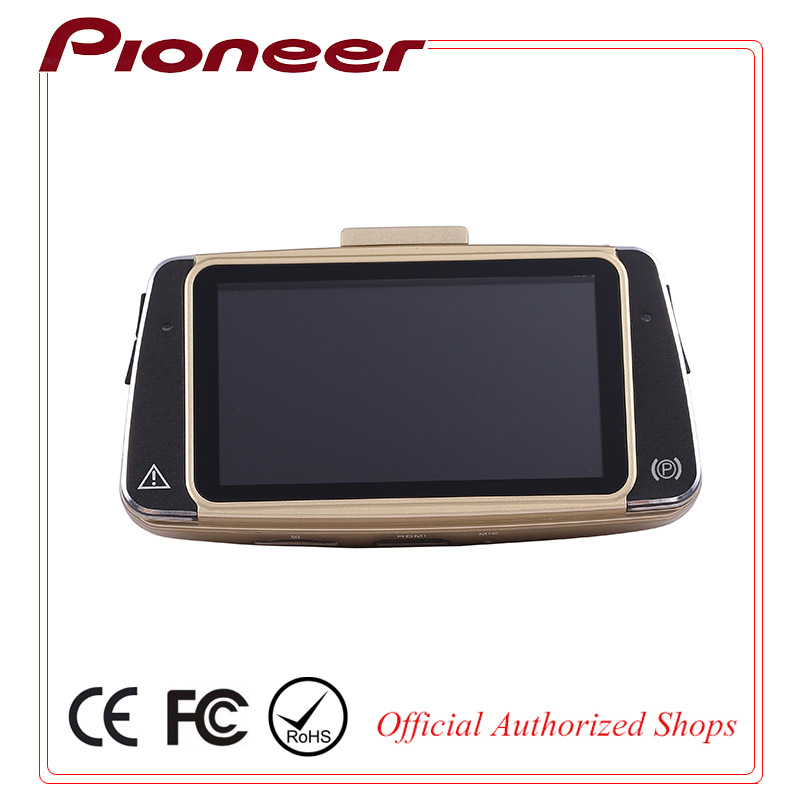 Pioneer HD 1080p Camera Car Dvr with GPS and G-sensor