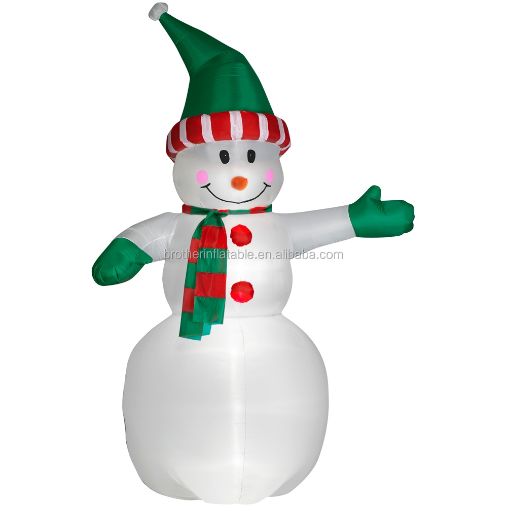 Merry inflatable christmas snowman lantern,outdoor christmas holiday lanterns,christmas hanging lantern outdoor