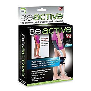 Buy BeACTIVE Brace Acupressure Hip Back Leg Pain Sciatica ...