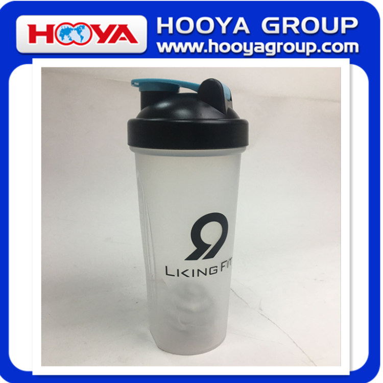 hot sale promotional plastic shake water bottle joy water shaker sport bottle