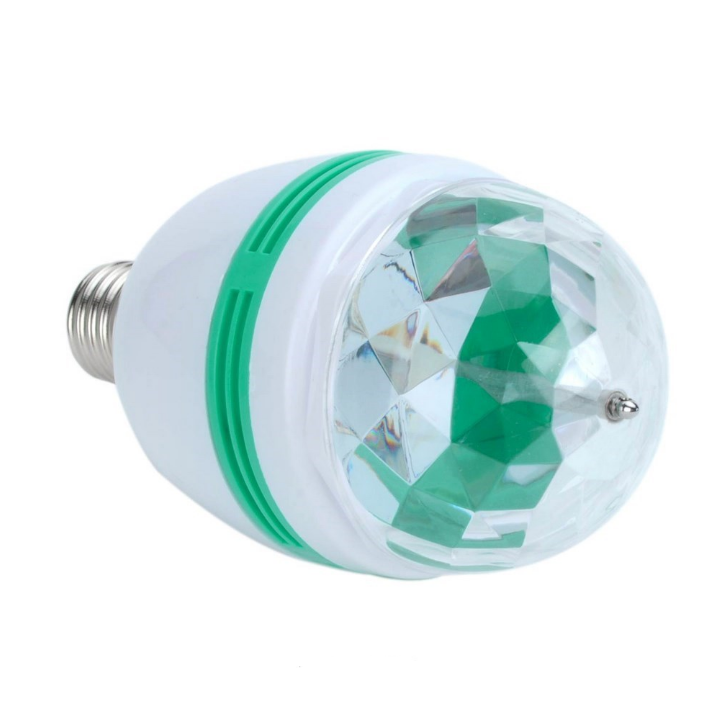 Remote Control 3W/6W LED Full Color Rotating Lamp