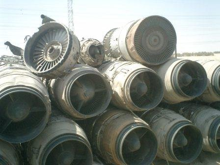 Airplane Jet Engine Scrap