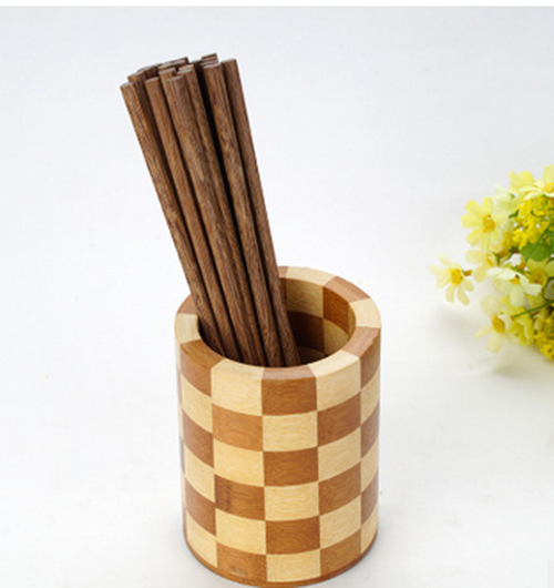 natural new design fork candle holder spoon holder