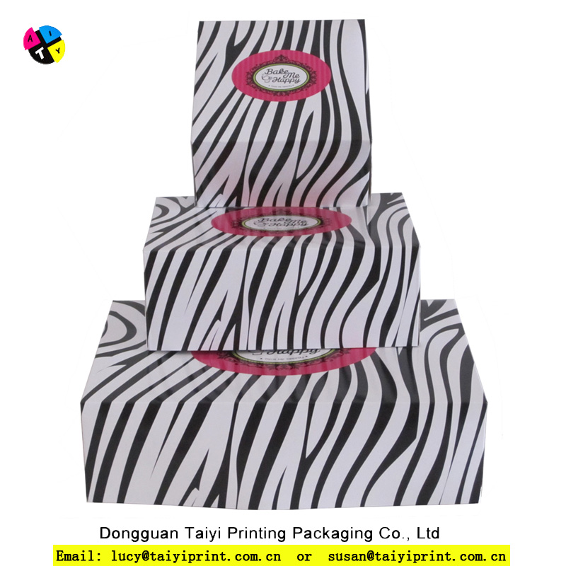 High quality china manufacture professional design mini cupcake box / paper cupcake boxes and packaging