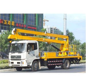 18~22m Truck mounted aerial working platform truck, High-altitude Operation Truck
