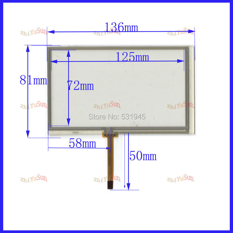 wholesale post 54 touch screen for pioneer avh p3100dvd new