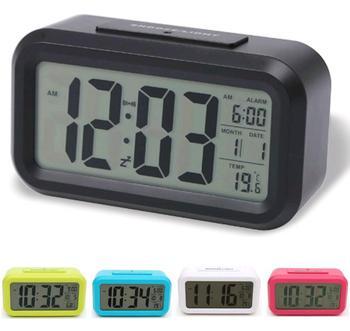 Lcd Digital Car Thermometer Clock Car Backlight Clock Buy Car